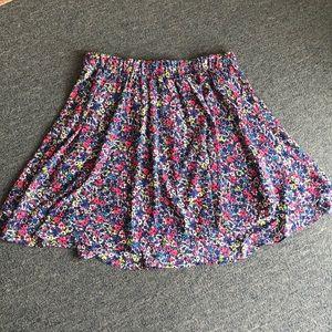 Torrid Challis Skater Skirt